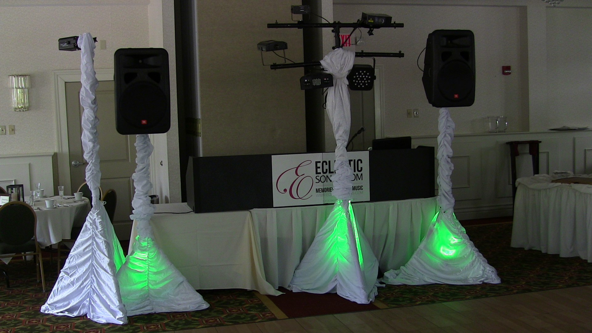 Another Lighting Setup used at Eclectic Songs
